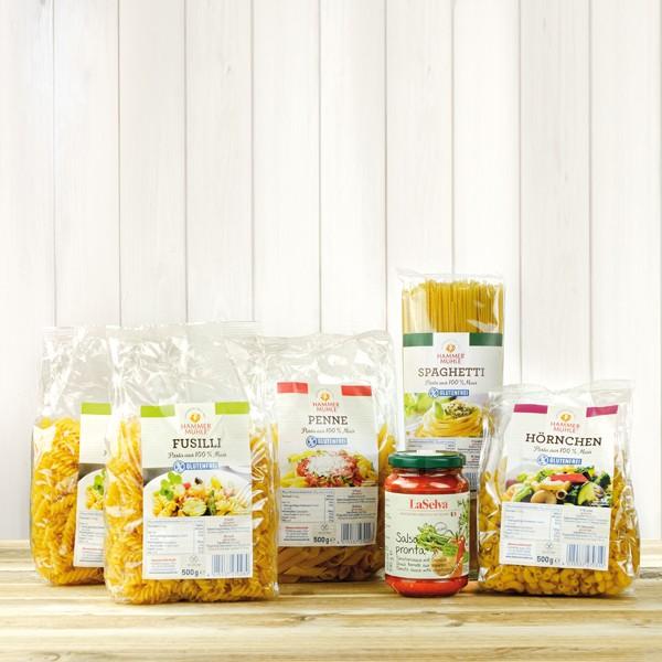 Nudel-Paket + gratis Bio Tomatensauce