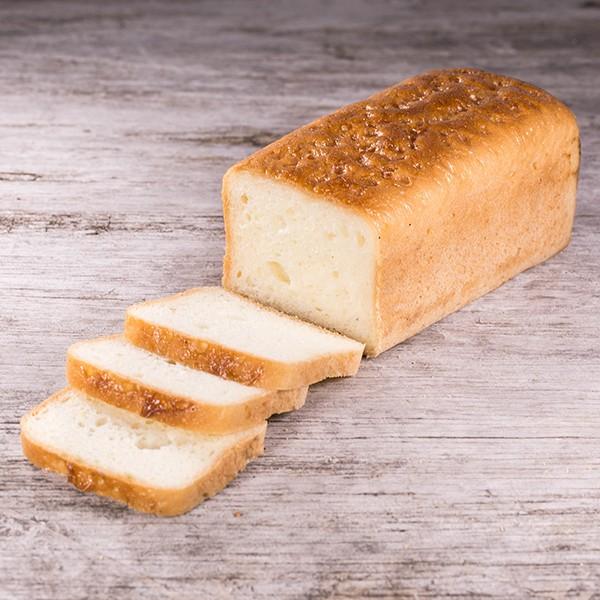 Toastbrot geschnitten