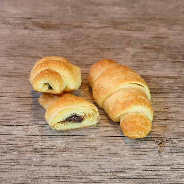 Schoko-Croissants, 4 Stück